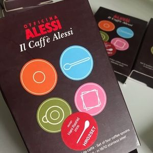 Alessi Limited Edition Designer Spoons